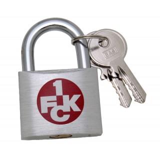 Fanschloss mit Gravur - 1.FC Kaiserslautern
